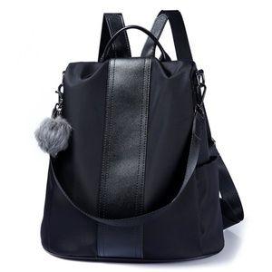 Handbags - WATERPROOF BLACK BACKPACK